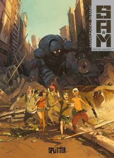 S.A.M. - Band 1: Nach dem Menschen... - 3/5 Sterne - DeepGround Magazine