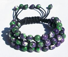 Ocean White Jade Bracelet Jade Macrame Bracelet  by ForgetTheClasp, This macrame bracelet comfortably fits sizes 6 to 8. Adjustable knot closure. Bracelet diameter: 2.25- 3.25 inches. Approx. 0.75 inches wide. 6 mm jade beads.