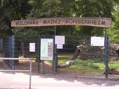 """Wildpark Mini Zoo in Mainz, Germany. I used to take my kids here every weekend. We walked down to the park from our apartment in the """"low rise"""" military contracted apt. in Mainz. We had some good times over there. Very nice German town."""
