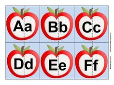 Free Apple Number Puzzles | Totschooling Blog - Printables ...