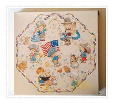Octagonal  Springbok Puzzle  PZL8504 Sweet Land of by cookiebabe, $15.95