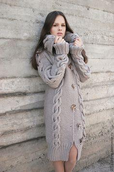 """Верхняя одежда ручной работы. Ярмарка Мастеров - ручная работа. Купить Пальто """"Нежность"""". Handmade. Коричневый, пальто женское"""