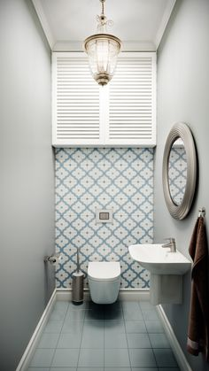 34 Lovely Bathroom Ceramic Tile Ideas You Should Copy - Ceramic bathroom are the latest trend in designing your bathroom. With a wide variety of alternate options available in terms of shape, color, and siz. Toilet And Bathroom Design, Toilet Room Decor, Small Toilet Room, Toilet Design, Tiny House Bathroom, Bathroom Design Luxury, Small Bathroom, Home Room Design, House Design