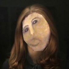Kate's restored portrait