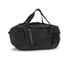 An ultra organized race duffel with backpack straps for big races and tris.