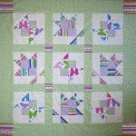 Butterfly Garden - Free Quilt Pattern at www.BOMquilts.com!