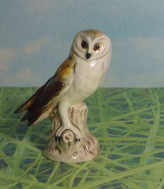 Vintage Goebel Owl Figurine. W. Germany by Cosasraras on Etsy