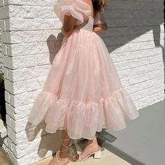 High Low, Tulle, Skirts, Outfits, Dresses, Fashion, Vestidos, Moda, Skirt