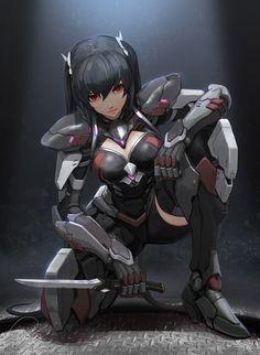 Tagged with anime, fanart, hotgirls, animegirl; Anime Fanart Collection HD Vol. Cyberpunk Kunst, Cyberpunk Girl, Fan Art Anime, Anime Art Girl, Sci Fi Characters, Girls Characters, Cyborg Anime, Character Inspiration, Character Art