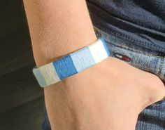 USB bracelet - you can make one too. Simple and interesting... Here's how.