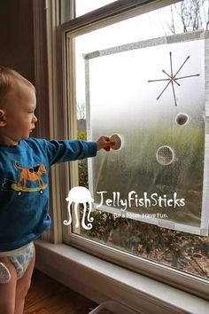 JellyFishSticks: Winter Activities for 18 Month Old Kiddos