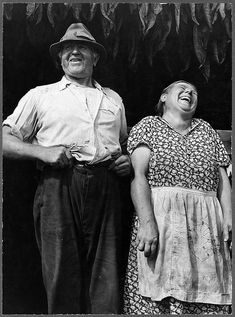 Mr. and Mrs. Andrew Lyman ~ Polish tobacco farmers near Windsor Locks, Connecticut • photo: Jack Delano via The Library of Congress on Flickr