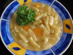 Fasole  scazuta cu pastai proaspete (reteta de post) - imagine 1 mare Veg Dinner Recipes, Thai Red Curry, Soup, Pastel, Vegan, Cooking, Ethnic Recipes, Kitchen, Cake
