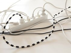 now you can let your cables showing! crochet them!