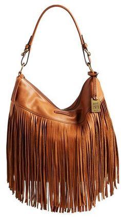 Frye 'Heidi' Fringe Hobo Bag