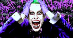 'Suicide Squad': Leto's Joker Goes All Out, May Surpass Ledger -- Jared Leto's performance is being compared to Heath Ledeger's in 'The Dark Knight' as production continues in Toronto on 'Suicide Squad'. -- http://movieweb.com/suicide-squad-movie-joker-jared-leto-heath-ledger/