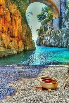 there is a beach in sicily