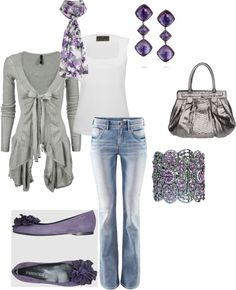 amethyst and grey @ Styling in Style