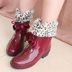 Shopkeeper recommend system with rain boot fashion female money rain boot-inBoots from Shoes on Aliexpress.com