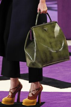 Miuccia Prada, Autumn 2012.....the shoes and the bag!
