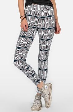 'Quilted Mind' Leggings