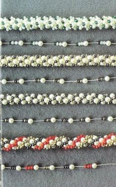 Extensive post on Turkish Crochet. Translate for links to 3 master classes, a how-to video and a number of stringing patterns that show pattern and resulting rope. #Seed #Bead #Tutorial
