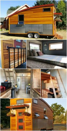 The METRO is 160 Square Feet of Stunning Design - When it comes to building tiny houses, designers have to work extra hard to make sure that both form and function are taken into account in every aspect of the build.