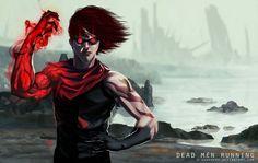 Dead Men Running by e-guerrero on DeviantArt Dead Man, Batman, Deviantart, Running, Superhero, User Profile, Warriors, Artist, Anime