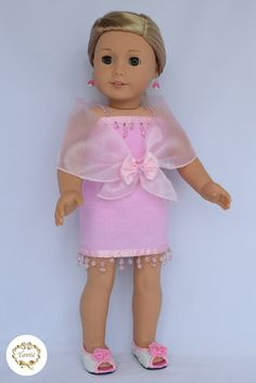 American girl doll clothes Formal Dress 3 by PricessPrincess