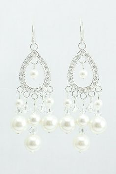 you'll look and feel confidently beautiful in these sophisticated earrings