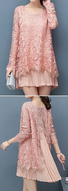 63 Ideas dress brokat lace simple for 2019 Trendy Dresses, Simple Dresses, Beautiful Dresses, Nice Dresses, Casual Dresses, Hijab Fashion, Fashion Dresses, Kebaya Lace, Kebaya Hijab