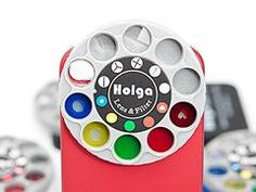 Holga iPhone 4 case with physical lens filters. NEAT