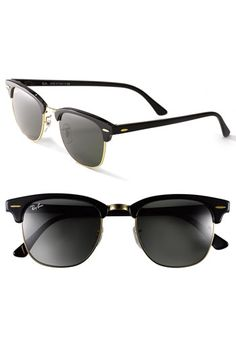 7690e463e0 Free shipping and returns on Ray-Ban  Clubmaster  49mm Sunglasses at  Nordstrom.