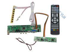 36.09$ (Buy here - https://alitems.com/g/1e8d114494b01f4c715516525dc3e8/?i=5&ulp=https%3A%2F%2Fwww.aliexpress.com%2Fitem%2FLA-MV9-P-Chip-V59-LCD-TV-Controller-Board-HDMI-USB-VGA-ATV-for-CLAA185WA04-V4%2F32690171814.html) LA.MV56U.A New Universal HDMI USB AV VGA ATV PC LCD Controller Board for 18.5inch 1366X768 CLAA185WA04 V4 LED LVDS Monitor Kit