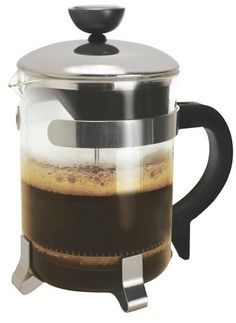 French press coffee is absolutely the best!  Love this small 4 cup model.
