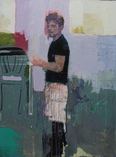 "Saatchi Art Artist christos tsimaris; Painting, ""untitled self portrait"" #art"