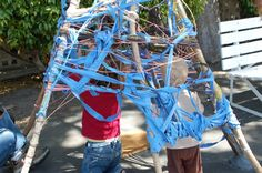 Kids love to hide in cubbies, caves, dens, and forts, and today I'm sharing 6 Fort Building Ideas to get your little builders inspired. 3Fort Building Ideas In case you're just checking in, I'm sharing some of my favorite kid-related ideas from the Bay Area Maker Faire, and today I'd like to share two creative …