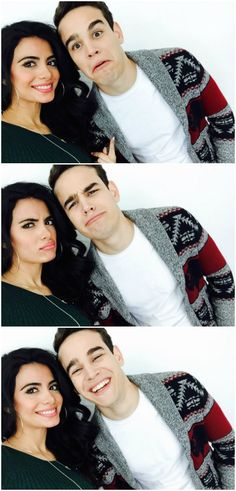 Emeraude Toubia and Alberto Rosende