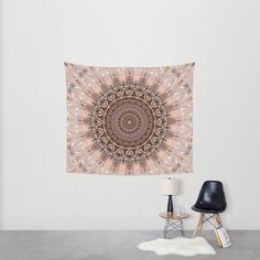 25% Off + Free Shipping on Wall Art - Ends Tonight at Midnight PT!  https://society6.com/product/mandala-romantic-pink_tapestry?curator=christinebssler  Mandala, kaleidoscope, pink, vintage...