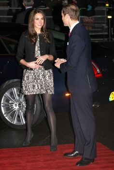 The Duke and Duchess of Cambridge attend a charity concert to raise funds for The Prince's Trust and The Foundation of Prince William and Prince Harry.