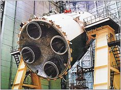 The Block C (third stage) houses 4 Rocket Engines, a derivative of the with longer nozzles. diameter of the third stage is Meter, the Height is Moon Projects, Space Projects, Apollo Spacecraft, Rocket Engine, Apollo Program, Space Race, International Space Station, Space Program, Space Shuttle