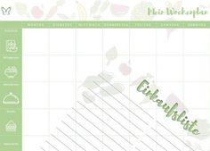 Wochenplan mit leckeren Gerichten zum Abnehmen. Hohe Flexibilität - keine vorgegebenen Rezepte. 1600 Kalorien. #fzwochenplan