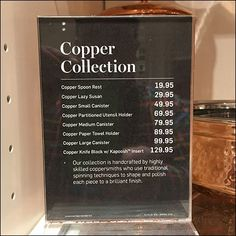 William Sonoma Copper Collection Pricing Strategy – Fixtures Close Up Paper Towel Holder, Utensil Holder, Lazy Susan, Industrial Chic, Williams Sonoma, Copper, Traditional, Visual Merchandising, Retail