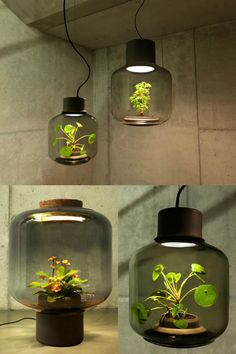 Mygdal Plantlamp is a LED-based lighting fixture that fosters health plant growth in indoor paces lacking natural light.