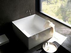 Vasca Da Bagno Da Incasso Quadrata : Vasca da bagno quadrata: 20 modelli da appoggio e da incasso bagni