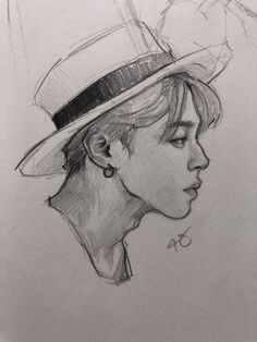 So so so beautiful *_* Kpop Drawings, Pencil Art Drawings, Art Drawings Sketches, Sketch Drawing, Jimin Fanart, Kpop Fanart, Bts Chibi, Wow Art, Bts Jimin