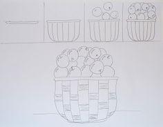 Apple Baskets | Art class ideas