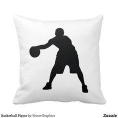 Basketball Player Pillow