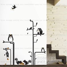 Fairy tale Home room Decor Removable Wall Sticker/Decal/Decoration