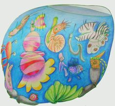 Aquarium - Illustrations, Inara's ART: Stories and scribbles - Zgodbe in cicke-cacke
